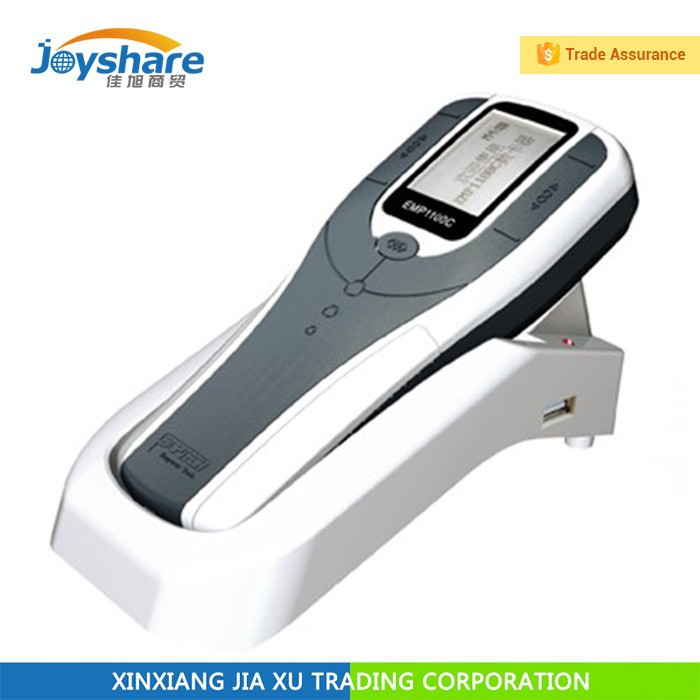 English version handheld wireless portable plastic card counter emp1100c An upgraded version jc-1100b card counter