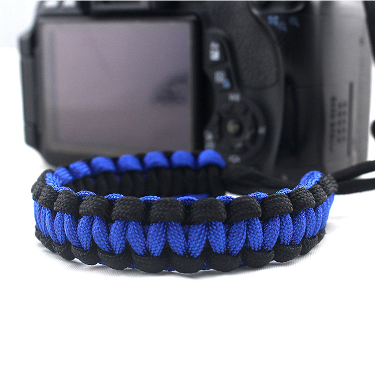 New Products 2018 Thin Blue Line Adjustable Cute Camera Straps For DSLR
