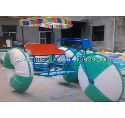 Antirust salt water use powerful water tricycle, water trikes, water pedal tricycle for sale with fast delivery