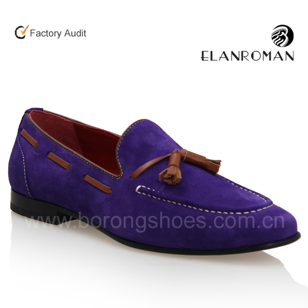 Boat shoes style man velvet casual shoe