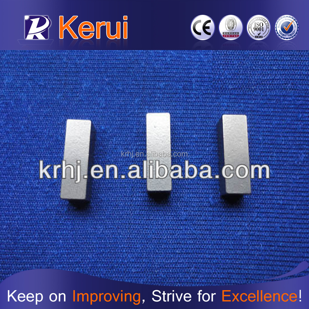 Cemented Carbide Gauge Protection Block For Mining Drill Bits