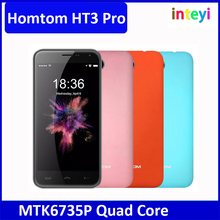 "HOMTOM HT3 Pro Smartphone MTK6735P Quad Core 5.0"" 1280x720 2G RAM 16G ROM Android 5.1 Cellphone 4G LTE 13MP 3000mAh Mobile Phone"