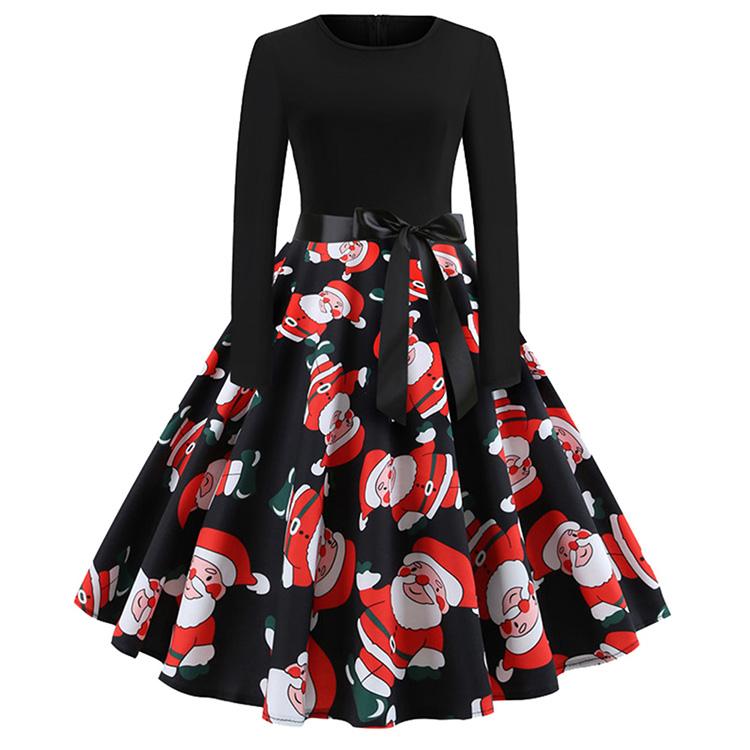 0ac1e2fe27b Santa claus printing pattern casual christmas wear winter skater jpg  750x750 Santa casual clothing