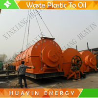 Waste plastic/rubber recycle to fuel oil machine pyrolysis plant with multiple safety device
