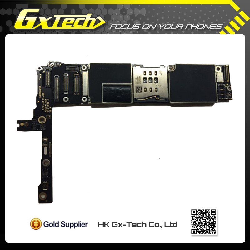 100% Original Unlocked 16GB Mainboard For iphone 6 Motherboard with Chips & Fingerprint Function for 4.7 inch
