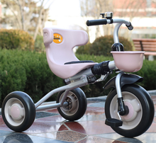 Excellent and new model cheap price metal frame baby trike kids folding tricycle