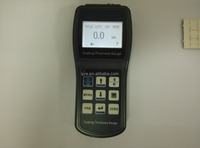 PRCT210 paint thickness meter gauge with digital display