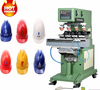 alibaba whole 4 color pneumatic closed ink cup shuttle tampo pad printing machine for motorcycle cap ,car cap
