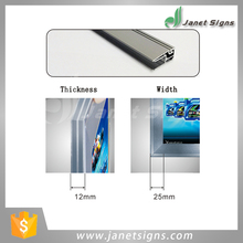 Customs Size Rectangle square flat aluminum snap frame SL004 made in Shanghai