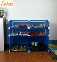 Portable DIY environmental Plastic hallway furniture shoe benches (FH-AW064310)