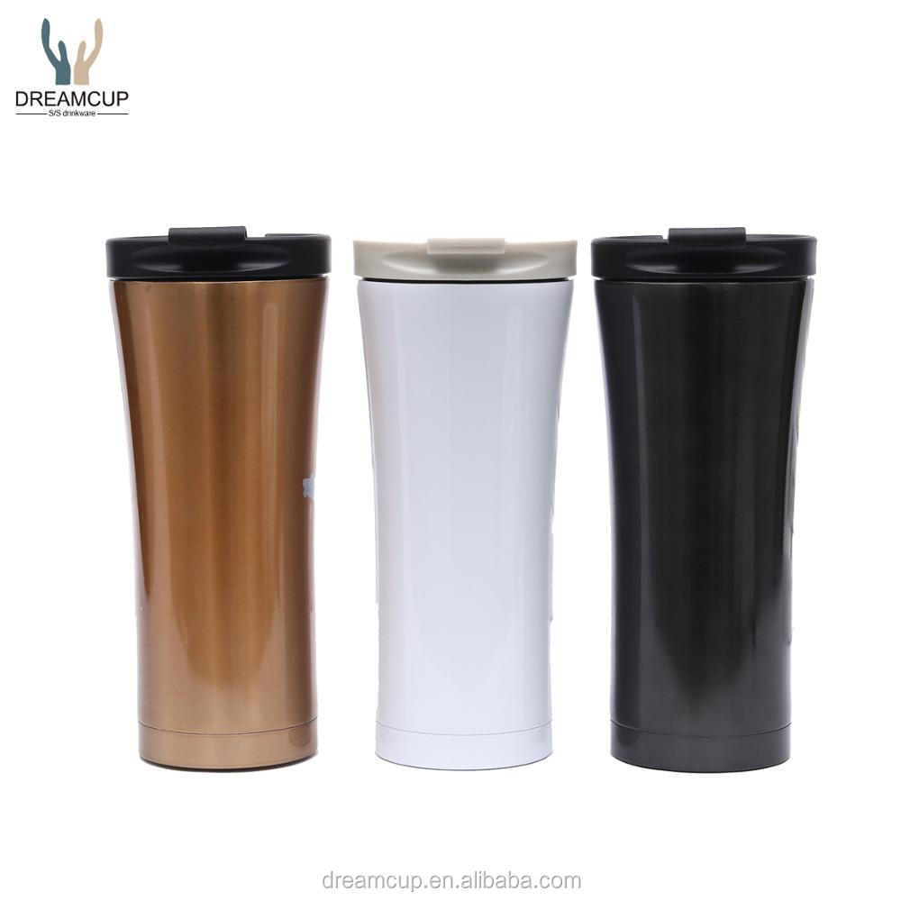 420ml diamond stainless steel double wall vacuum tumbler mug