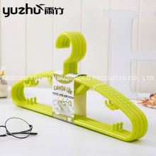 Factory Wholesale Handmade Decorative Plastic Coat Hanger