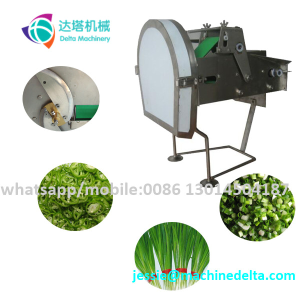 Professional table top spring onion cutting machine/scallion cutter
