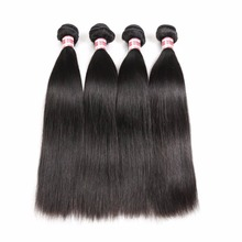 Top quality wholesale 100% remy virgin brazilian human hair extension,hair weaving