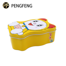 Existing mould Creative Design Metal Tin Coin Bank With Lock For Kids