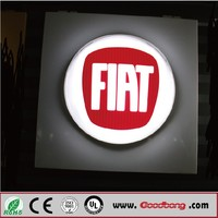 high quality car showroom display logo sign