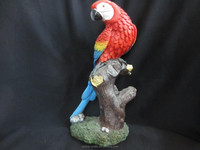 Resin Parrot bird animal figurine home decoration