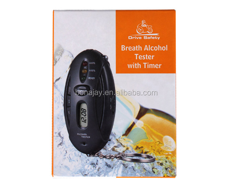 Alcohol Breathalyzer Tester with 3 Indicators