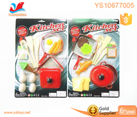 Plastic kitchen toys play cooking food toys 10 pcs tools for kids play food toy set for kids