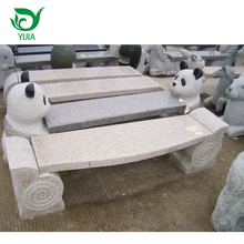 Factory wholesale nature outdoor granite stone benches