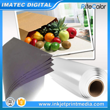 Waterproof 210gsm RC Glossy Self Adhesive Photo Paper Roll for Inkjet Digital Printing