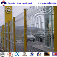 Manufacturer ISO9001 gates and fence design / pvc welded wire fence gate