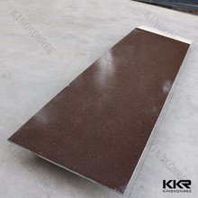 Bacteria resistant Brown acrylic solid surface , PMMA stone