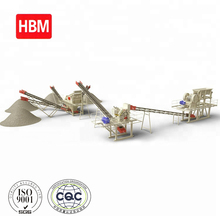 100-120tph fixed crushing plant