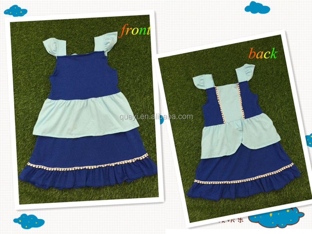 Wholesale toddler hot sale braces skirt frock design for baby girl girls party dresses