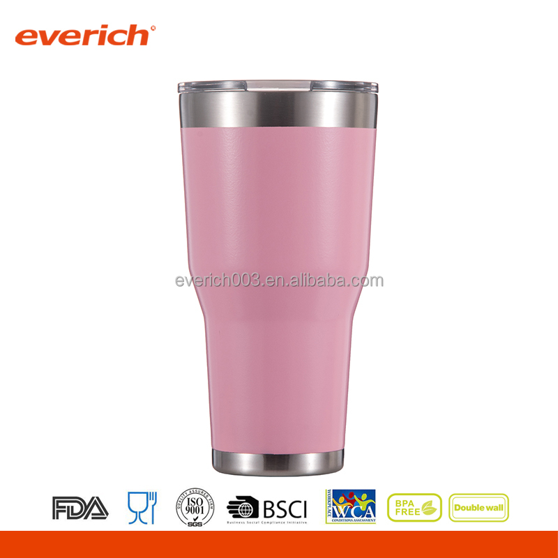 2016 New Product Insulated Vacuum Stainless Steel Wholesale Skinny Tumbler