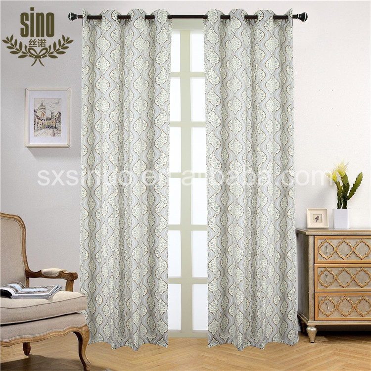 Competitive Price wholesale printed blackout curtain