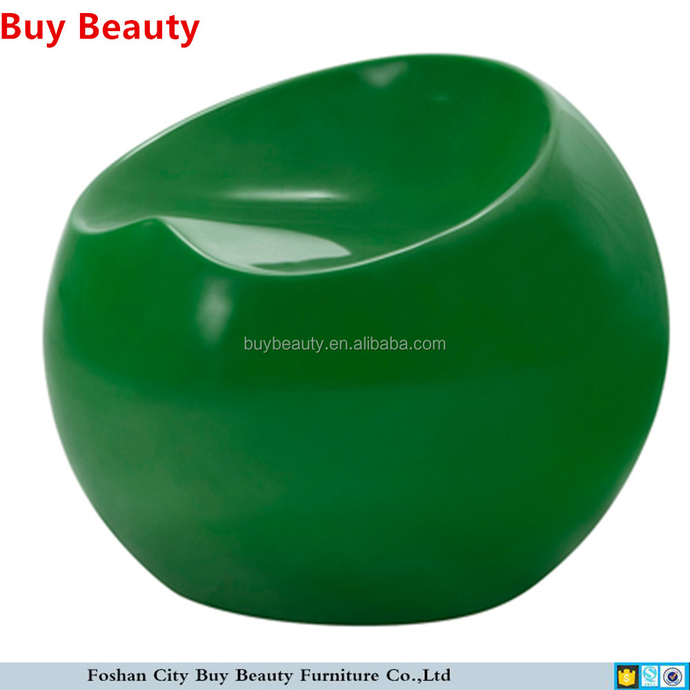 Fiberglass apple finn stone ball chair