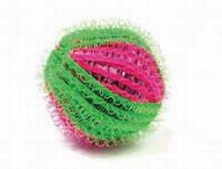 Hot selling velcro washing ball,colorful nylon velcro washing ball