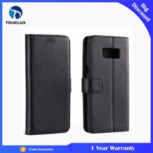 Good Quality Flip Wallet Case With TPU for Samsung Galaxy S5 Litchi PU Leather