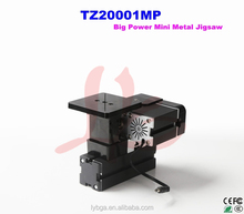 Big Power Mini Metal Jigsaw TZ20001MP, practical mini lathe for straight-line cutting and curve cutting