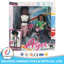 Excellent quality fashion black african american girl dolls