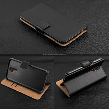 Luxury Genuine Real Leather Flip Wallet Stand Case Cover For Motorola Moto G4 G 4th Gen