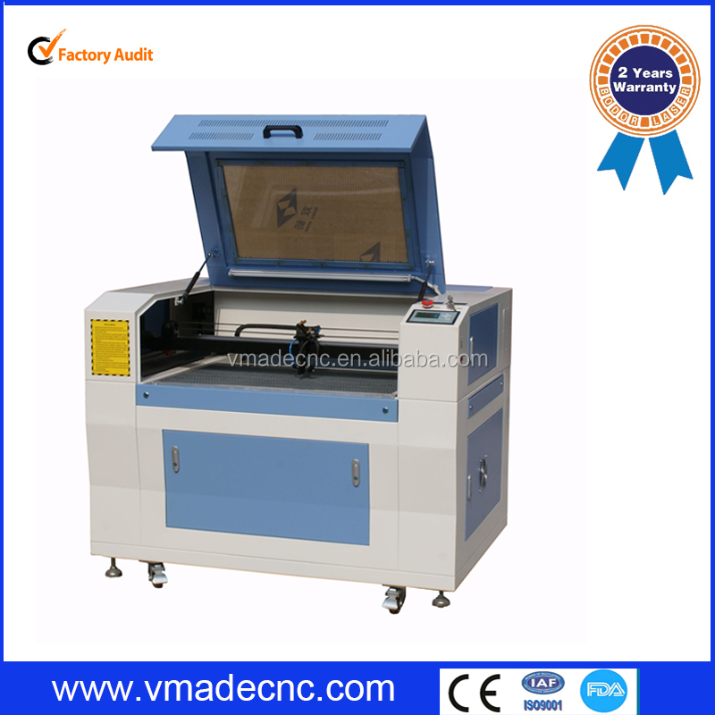 2015 New design fabric leather laser cutting machine CO2 Laser engriving machine