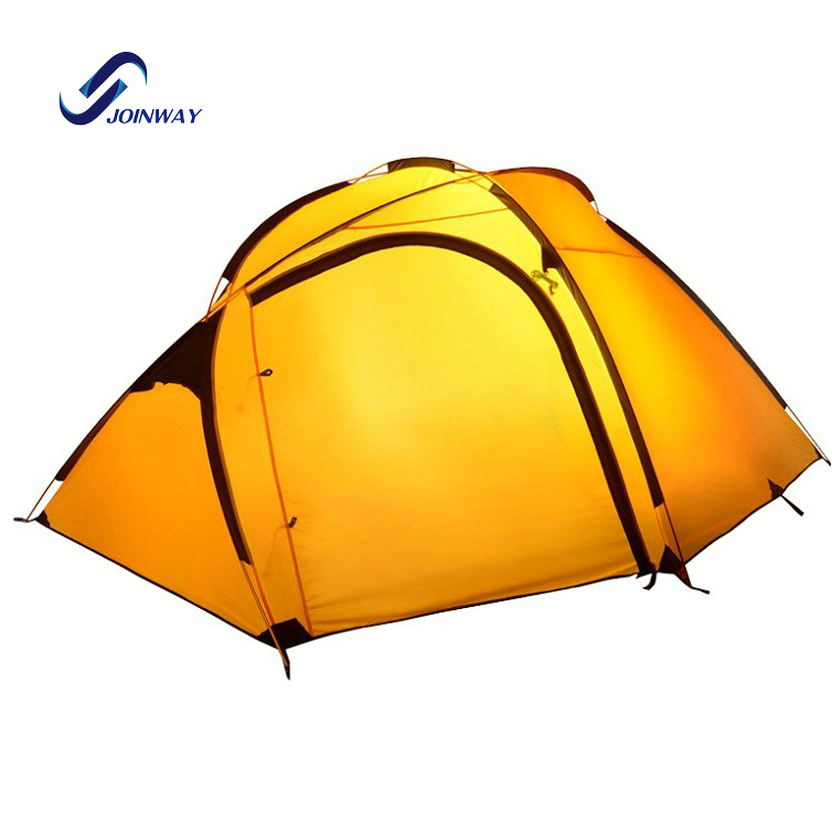 JWJ-039 Aluminum pole frame waterproof lightweight camping gear <strong>tent</strong> outdoor