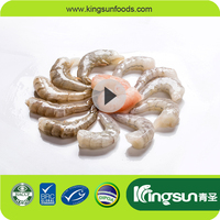 Raw/Cooked IQF PD/PND/PDTO Frozen Tail On Vannamei Shrimp Penaeus Vannamei White Prawn