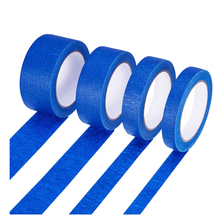 high quality low noise nature rubber UV resistant 60 yard 2'' masking tape blue painters tape