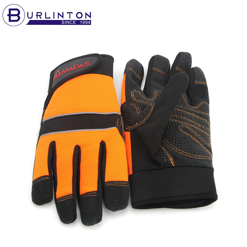 Highly Visiable and Silicon Anti-silp Electrical Safety Gloves