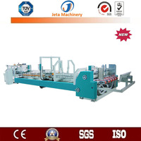[JT-YF2000]Fully automatic folding carton box gluing machine