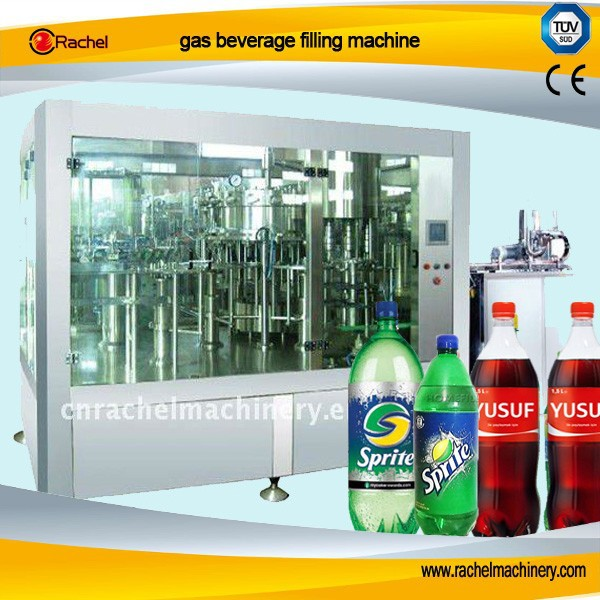 Alcohol carbonated beverage 3 in 1 filling machine