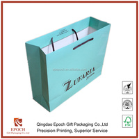 shopping paper bag with competitive price by china supplier
