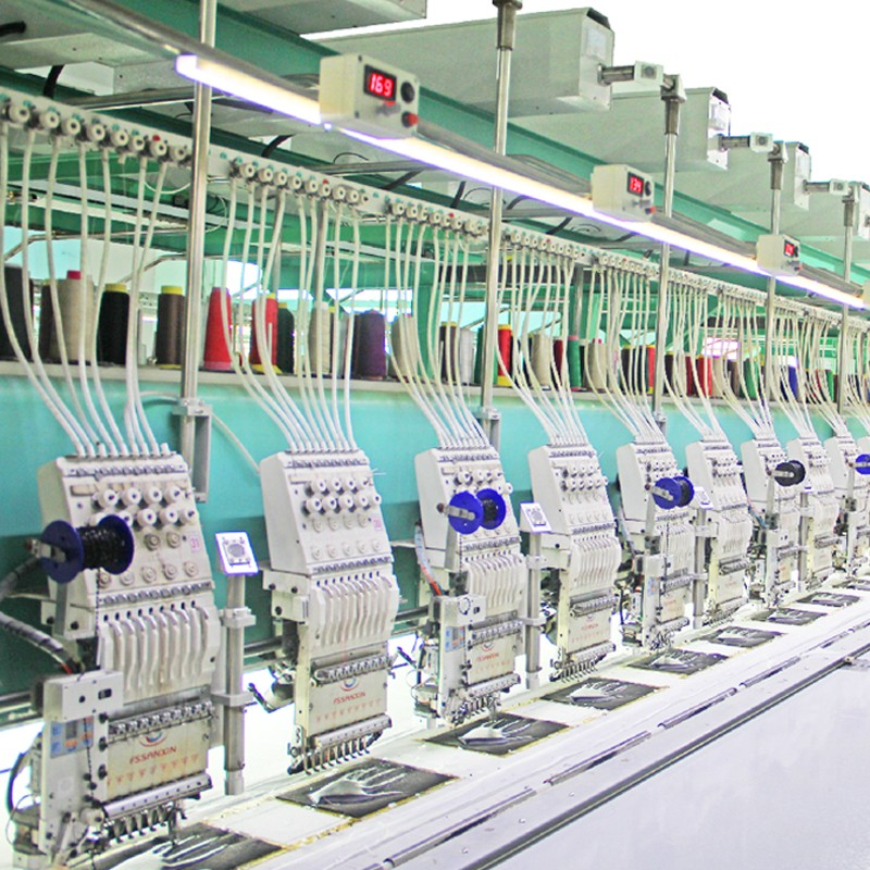 Multi head embroidery machine for sale with lace designs