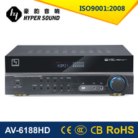 2015 Newest product 5.1ch amplifier price in india with Digital karaoke system AV-6188HD