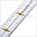 Shanghai kearing brand transparent quilting ruler with 6*0.5 inch used for fashion design # KPR6005
