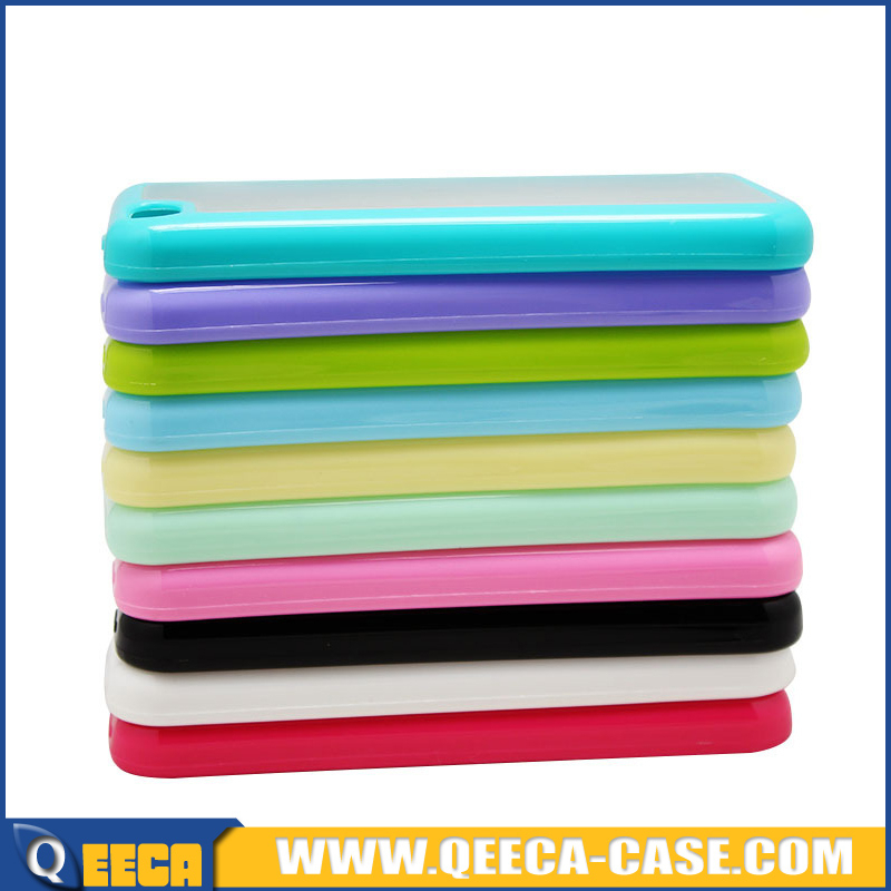 2015 unique pc tpu mobile phone case for iphone 5c pc tpu case