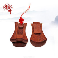 Yazhixuan Creative Design Miniature Wooden Caskets for Mobile Phone Chain